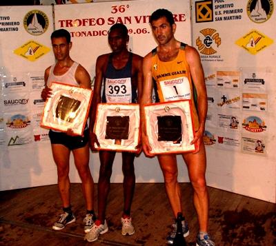 Podio Maschile Trofeo San Vittore 2007