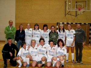 La nuova squadra del calcio a5 femminile, 2009/2010