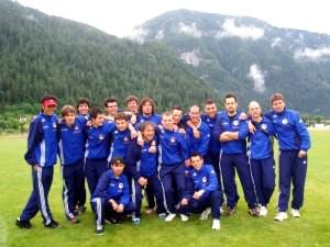 il gruppo della prima squadra, 2009