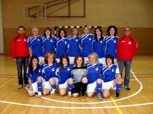 Squadra calcio a5 femminile