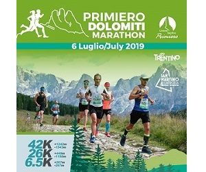 Primiero Dolomiti Marathon 2019