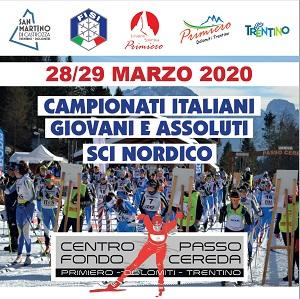 Campionati Italiani Giovani e Assoluti Sci Nordico 2020
