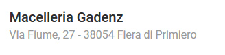 M Gadenz