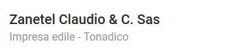 Zanetel Claudio & C. Sas